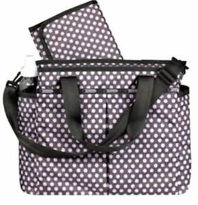 304e955f7 Image is loading Brand-New-LESPORTSAC-Ryan-Pinky-Dot-Baby-Diaper-