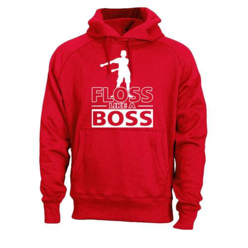 Flossin Dance Floss Like a Boss Kids Hoodie Sweatshirt