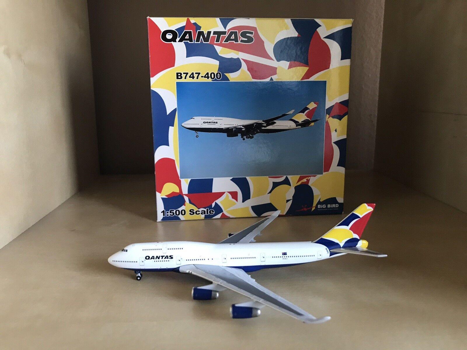 Qantas Boeing 747-400 1 500 Scale Model By Big Bird