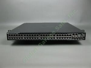Dell-PowerConnect-7048R-48-Port-Network-Switch-240V-5A-63Hv-10GbE-Stacking-Mod