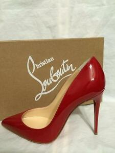 d0cb8e968ee Image is loading Christian-Louboutin-PIGALLE-FOLLIES-100-Patent-Leather -Heels-