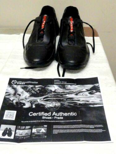 Prada Black/Red Shoes