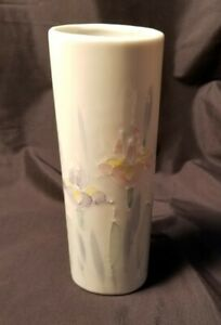 Preowned-Otagiri-Japan-Floral-Lite-Hand-Painted-Vase