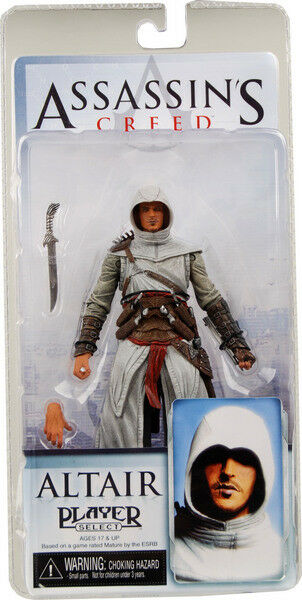 Altair Assassins Creed Player Select Series 1 Action Figur NECA