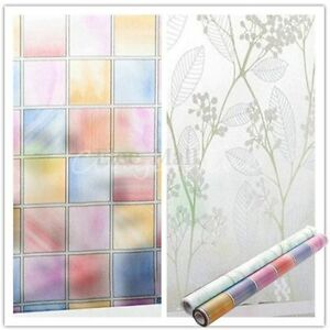 film autocollant anti vue verre vitre vitrage fen tre maison sticker 45cmx2m ebay. Black Bedroom Furniture Sets. Home Design Ideas