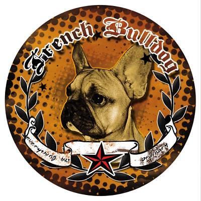 Ordentlich FranzÖsische Bulldogge Murphy Sticker Aufkleber French Bulldog Bully Frenchi