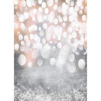 1.5x2m Fotohintergrund Hintergrund Fotostudio Kulisse Stoff Weihnachten Bling