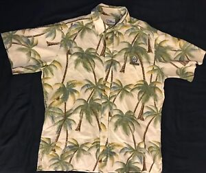 8949a1d36 Reyn Spooner Mens Large Hawaiian Shirt NFL Football Hawaii Pro Bowl ...