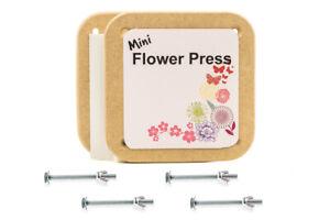 Charmant Peak Dale Mini Fleur Press Kit 125 Mm X 125 Mm (ne Sera Pas Bend)-afficher Le Titre D'origine Pour Aider à DigéRer Les Aliments Gras