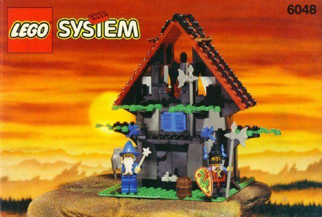 Lego Schloss Drache Ritter 6048 Majisto's Magisch Workshop Neu