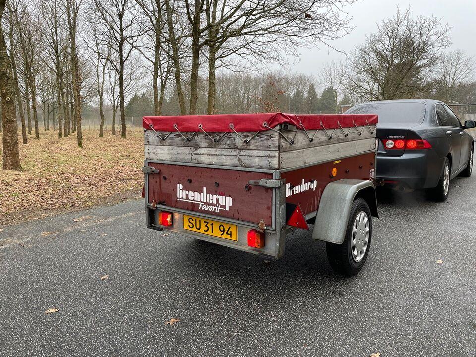 Ladtrailer, Brenderup Favorit K450, lastevne (kg): 350