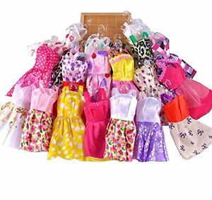 USA 10pcs/Lot Fashion Party Daily Wear Dress Outfits Clothes for 11inch Doll Toy 629774876446