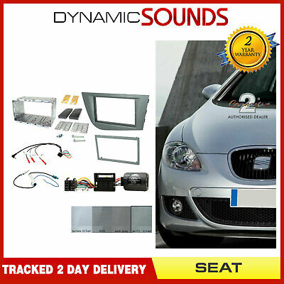 Complete Double Din Stereo Fitting Kit CTKST05 Seat Leon 2005-2012