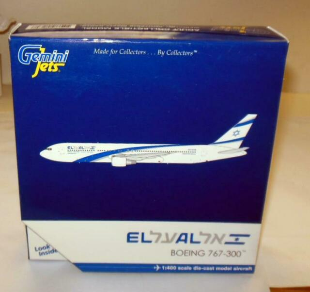 Israel Gemini Jets El Al New Boeing 767-300 GJELY1270 1//400 REG# 4X-EAN