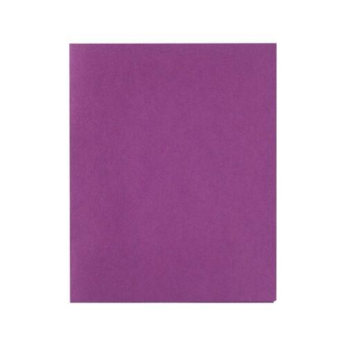 Staples School Grade 2 Pocket Folder Purple 25//Box 578541