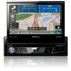 pioneer avh x7800bt autoradio 1din mit bluetooth usb cd dvd navigation gps avic ebay. Black Bedroom Furniture Sets. Home Design Ideas