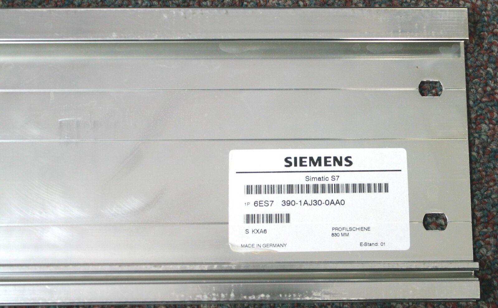 SIEMENS 6ES7 390-1AJ30-0AA0 6ES7390-1AJ30-0AA0 SIMATIC S7-300 Rail 830mm