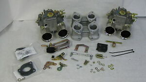 BMW-2002-DUAL-WEBER-45-DCOE-CONVERSION-KIT-K205-GENUINE-WEBER-CARBS
