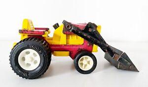 Vintage-1970-039-s-Tiny-Tonka-Farm-Tractor-with-loader-No-581-811002