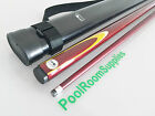 POOL SHARK Graphite Composite Pool Billiard Snooker Cue FREE CASE *Choose Colour