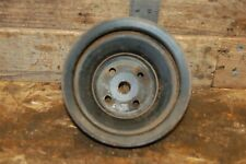 Chevy 2 Groove Water Pump Pulley Sbc