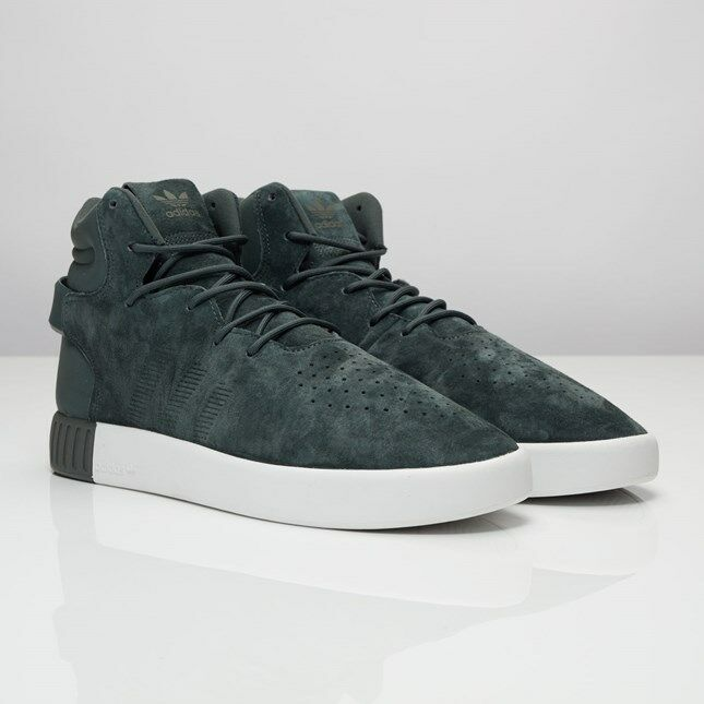 0a099130697 Adidas Tubular Invader S80242 Shadow Shadow Shadow Ivy Men Sizes NEW 100%  Authentic 3fa07e