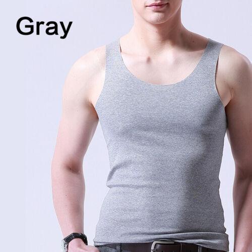 Summer Men/'s Gym Sport Tank Sleeveless Tops Undershirt Slim Muscle Vest T Shirt