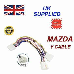 For-MAZDA-MP3-SD-USB-CD-AUX-Input-Audio-Adapter-Module-Y-Cable