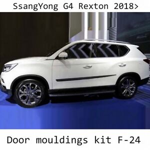 Body-Side-Mouldings-Door-Molding-Protector-Trim-Cover-fit-Ssangyong-Rexton-2018