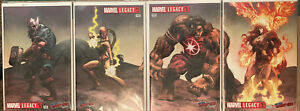 MARVEL LEGACY #1 NYCC COMICXPOSURE MIKE DEODATO 7 BOOK CONNECTING COVER SET NM