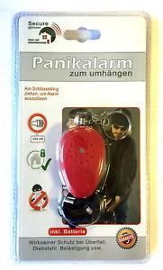 Panikalarm-zum-umhaengen-Personenschutz-Taschenalarm-Alarm-mit-Schluesselanhaenger