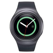 Samsung Gear S2 SM-R730T Smartwatch (T-Mobile) w/ Rubber Band (L) - Dark Gray