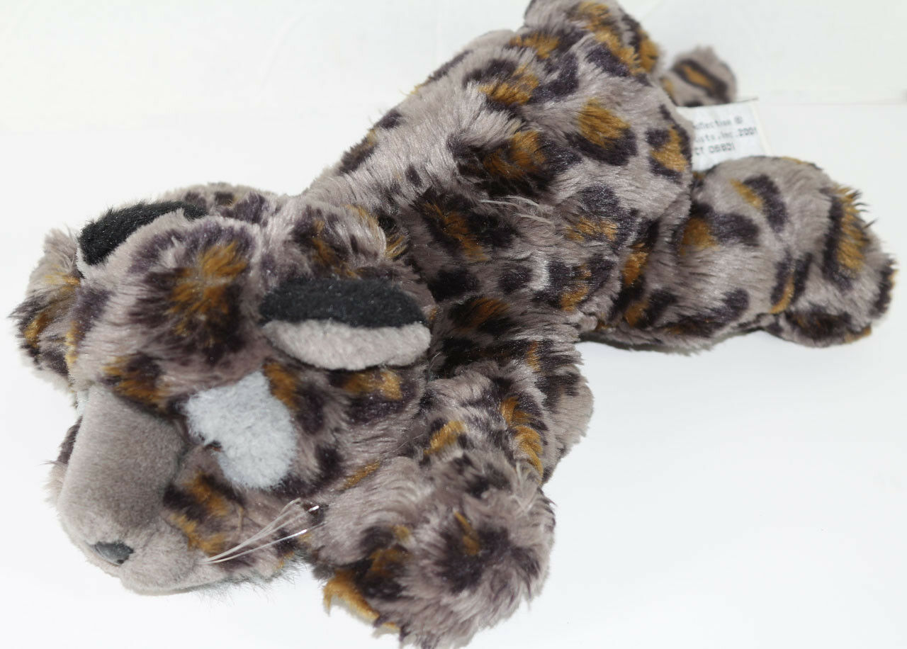 Cute WILDLIFE ARTIST CONSERVATION COLLECTION SPOTTED LEOPARD LEOPARD LEOPARD Stuffed Plush TOY fa2172