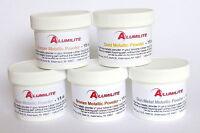 Alumilite Metallic Powder 1 Oz Resin Jewelry Polymer Clay Powder Faux Metal