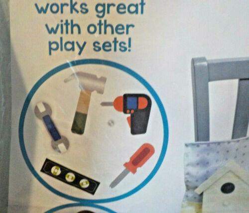 New Educational Pretend Play Mat Tools Set Felt Summer Fun