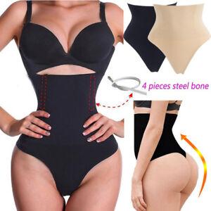 fc1edc3595 Image is loading Women-Slimmer-High-Waist-Trainer-Tummy-Control-Body-