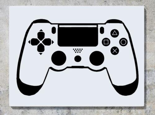 PLAYSTATION 4 Fernbedienung Ps4 Gamepad Wanddekoration Aufkleber Bild Plakat