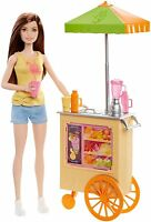 Barbie Careers Smoothie Chef Playset With Brunette Doll Dnc71