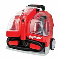 Rug Doctor Portable Spot Cleaner Machine, Red - Corded