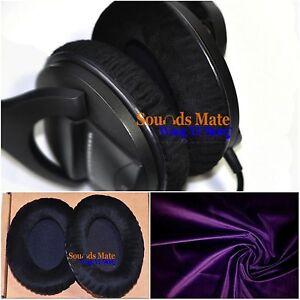 Schwarz für Sennheiser Hd280 HD 280 pro 2X Ersatz Ohrenpolster Kopfhörer Kissen