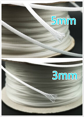 hifi audio Cable Sleeving Braided PET Shield 3mm sleeve up to 4.5mm