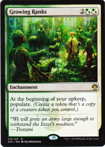 GROWING RANKS Return To Ravnica Selesnya Guild Kit NM//Never played