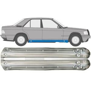 Mercedes-190-W201-1982-1993-Voll-Schweller-Reparaturblech-Paar