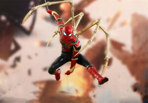 HC-Marvel-Avengers-Iron-Spider-Man-1-6-Th-Scale-Collectible-Figure-MMS-482