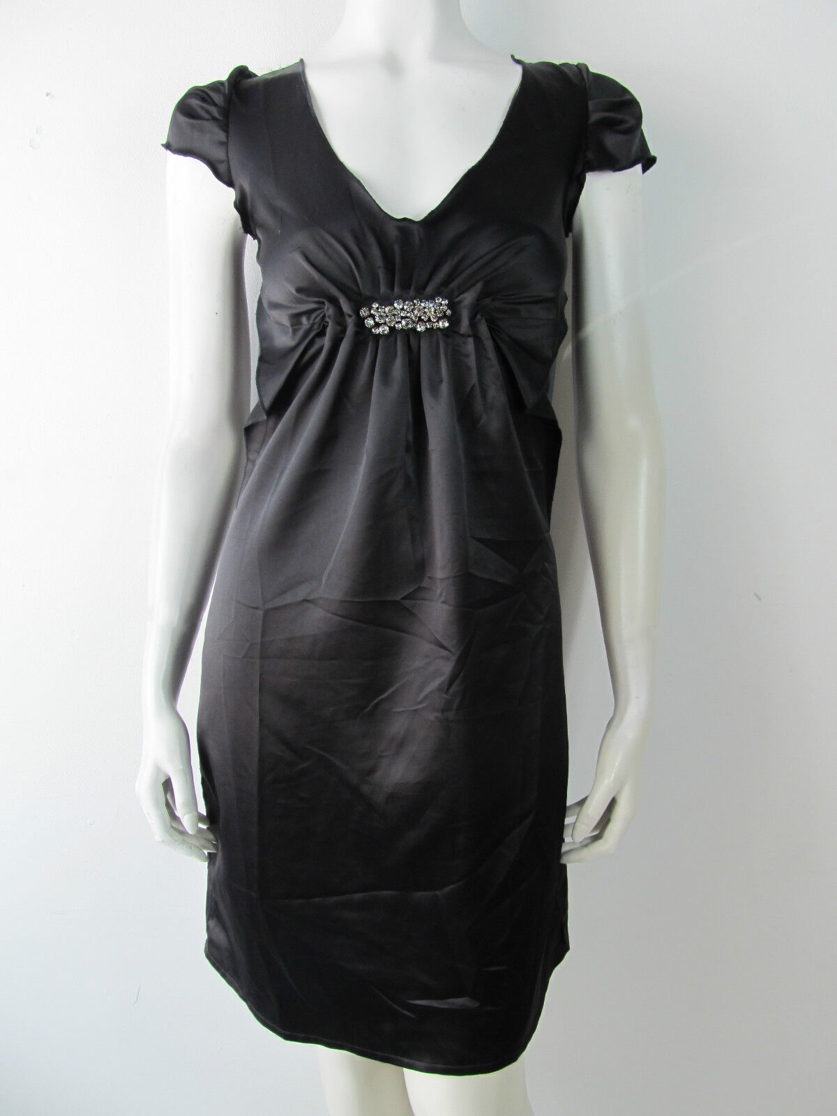 Just For You Damen Kleid Kleed Dress Jurk 94 Strass Neu XS S
