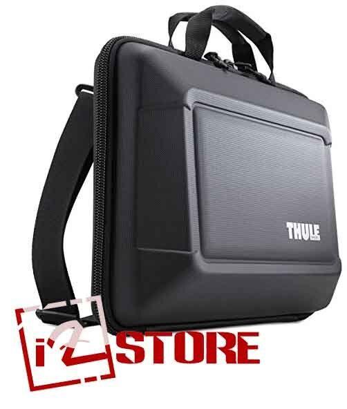 Thule Gauntlet 3 0 13 Macbook Pro Rugged Attache Laptop Bag Black Ebay