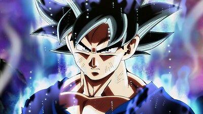 Poster 42x24 cm Dragon Ball Super Goku Doctrina Egoista Ultra Instinct 07