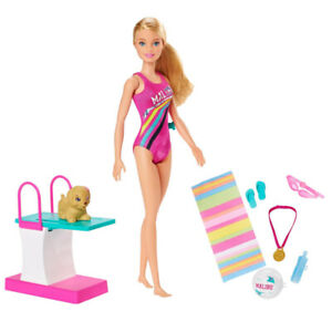 Barbie-GHK23-Dreamhouse-Adventures-Swim-n-Dive-Swimmer-Doll-and-Accessories