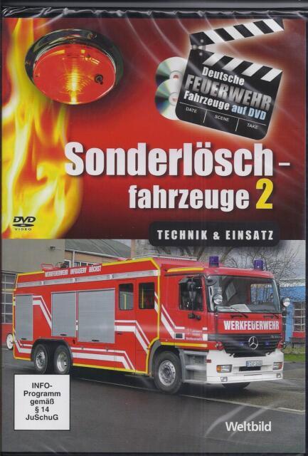 """Feuerwehr Sammleredition /"""" Flughafenfahrzeuge /"""" 2 DVDs OVP Weltbild # 12"""