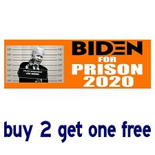 JOE BIDEN PRESIDENT 2020 BUMPER STICKER decal anti-trump democrat obama